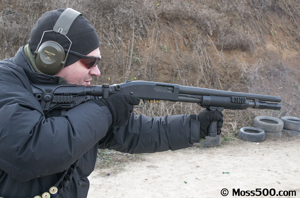 FAB Defense Mossberg 500 Collapsible Folding Recoil Reducing Buttstock